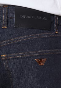 Emporio Armani - Denim shorts - dark blue - 3