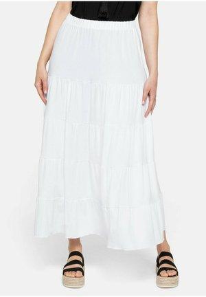 Maxi skirt - weiß