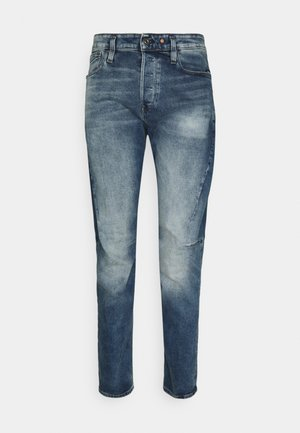 SCUTAR 3D SLIM TAPERED - Slim fit jeans - elto pure stretch denim/vintage azure
