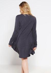 Zalando Essentials Curvy - Jersey dress - dark grey melange - 2
