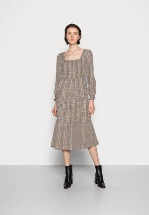 ULLA DRESS - Day dress - truffet check