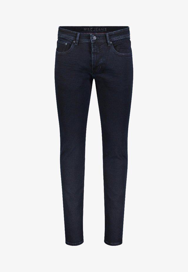 Slim fit jeans - deep blue/dyed black