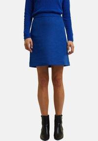 Esprit Collection - A-line skirt - bright blue - 4