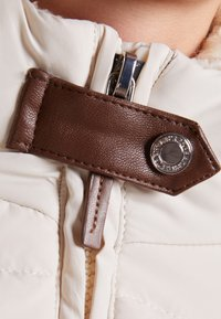 Lauren Ralph Lauren - HAND TRIM  - Down coat - moda cream - 4
