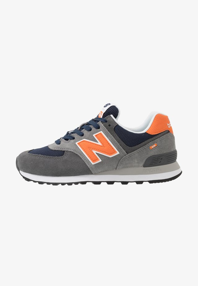 574 - Baskets basses - grey/navy