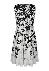 Alba Moda - Day dress - off-white grau schwarz - 7