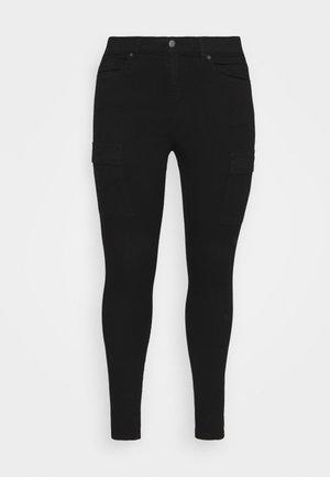 LEXY PLUS - Skinny džíny - black