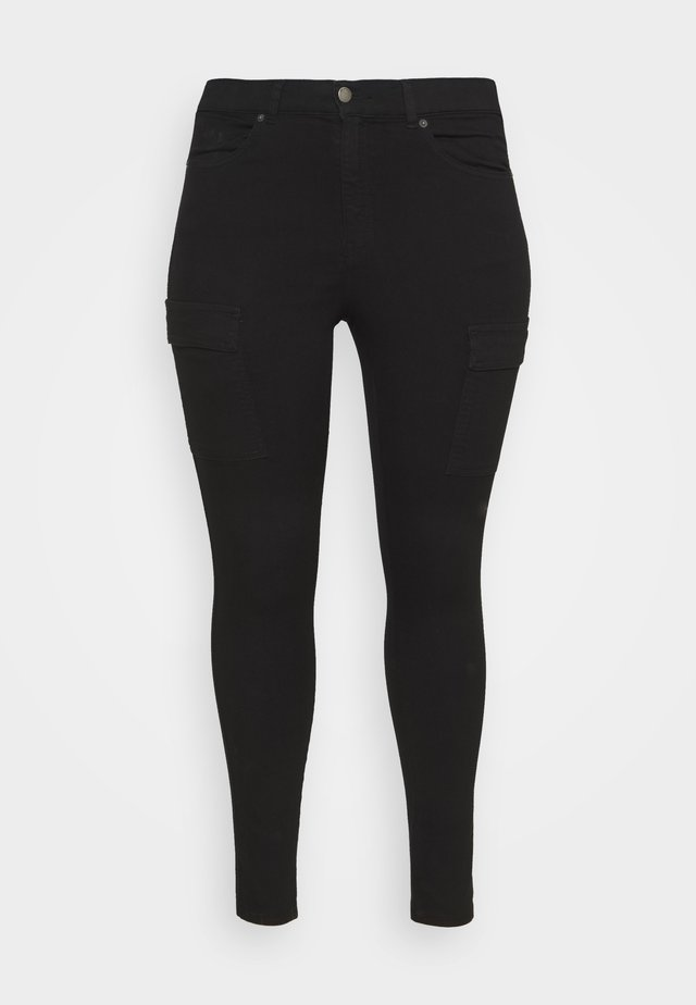 LEXY PLUS - Jeans Skinny Fit - black