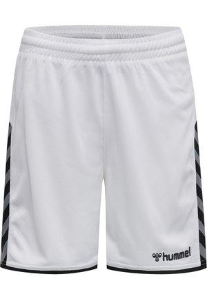 HMLAUTHENTIC  - Korte sportsbukser - white