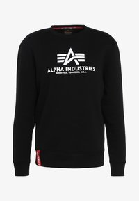 Alpha Industries - BASIC  - Sweatshirt - black - 5