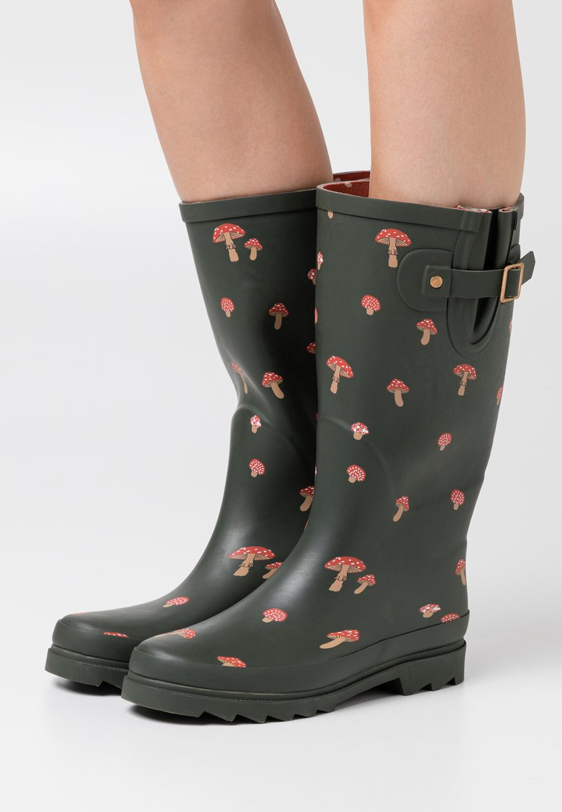 Anna Field - Wellies - dark green