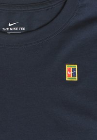 Nike Performance - TEE COURT - T-shirt basic - obsidian - 2