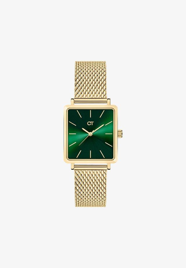Watch - gold/green