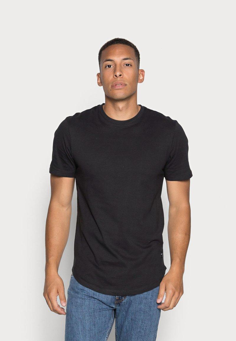 Only & Sons - ONSMATT LONGY TEE 3 PACK - T-shirt basic - black