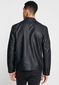 Brave Soul - JONES - Faux leather jacket - black - 2