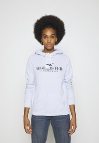 Hollister Co. - Hoodie - light blue - 0