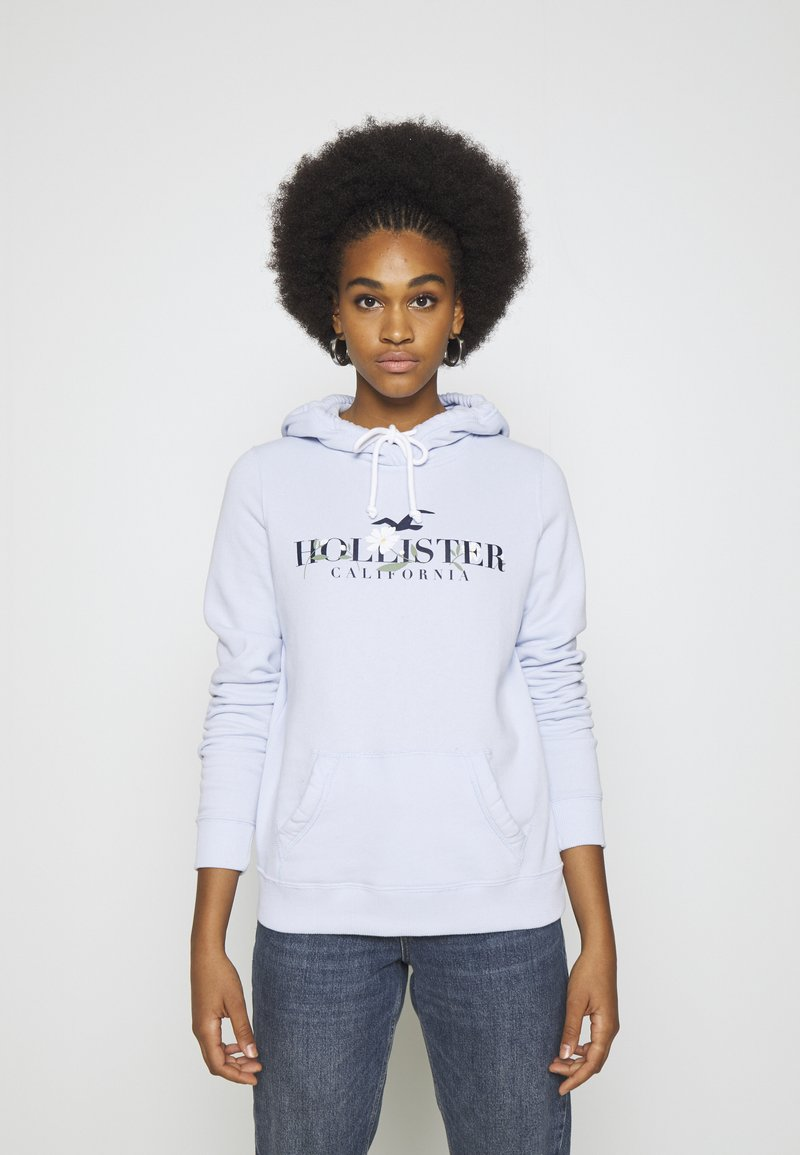 Hollister Co. - Hoodie - light blue