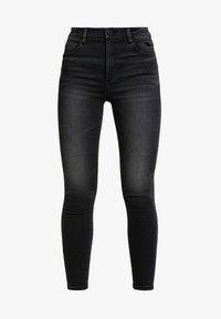 Skinny džíny - black fog