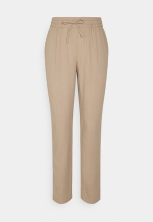 VMASTIMILO ANKLE PANTS - Trousers - beige