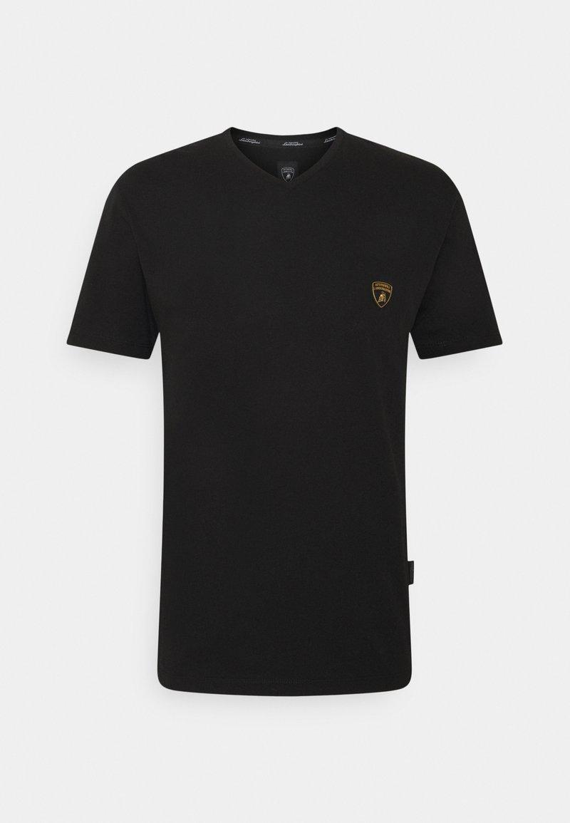 AUTOMOBILI LAMBORGHINI - T-shirt con stampa - nero