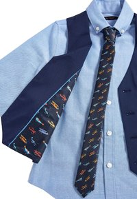 Next - NAVY AEROPLANE WAISTCOAT SET (12MTHS-16YRS) - Suit waistcoat - blue - 2