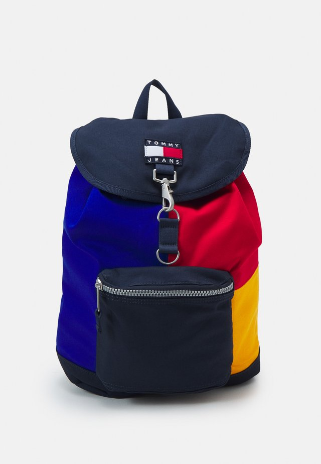 HERITAGE FLAP BACKPACK UNISEX - Batoh - blue