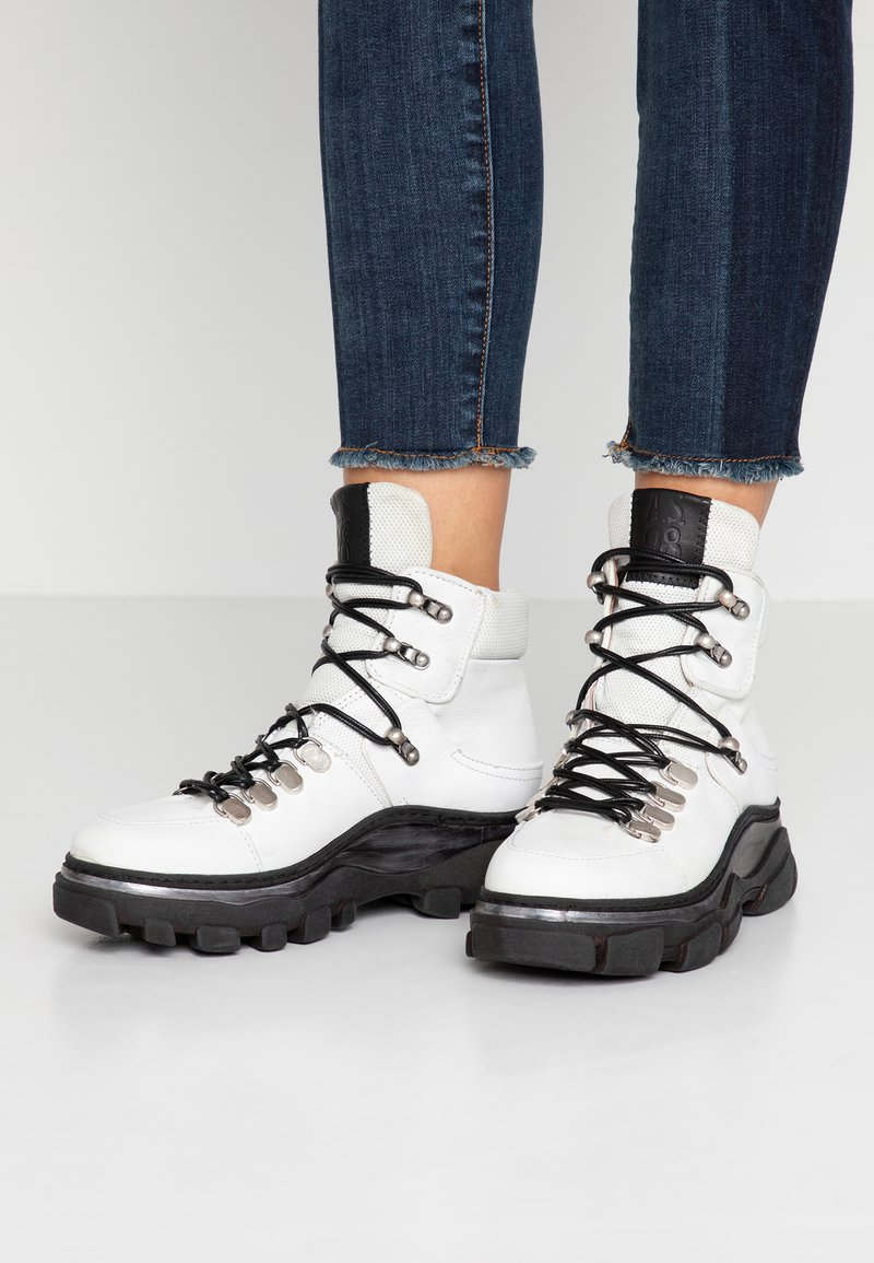A.S.98 - Ankle boots - bianco