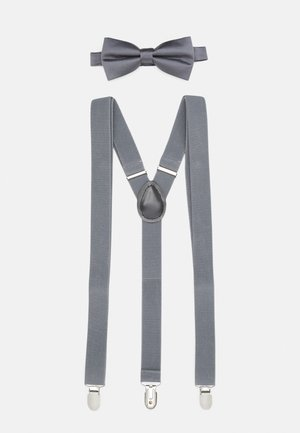SET HOSENTRÄGER - Corbata - grey