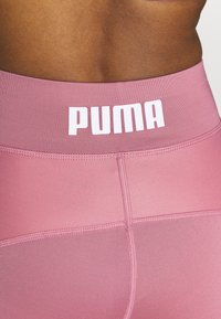 Puma - PAMELA REIF X PUMA COLLECTION HIGH WAIST FABRIC BLOCK  - Tights - mesa rose - 4