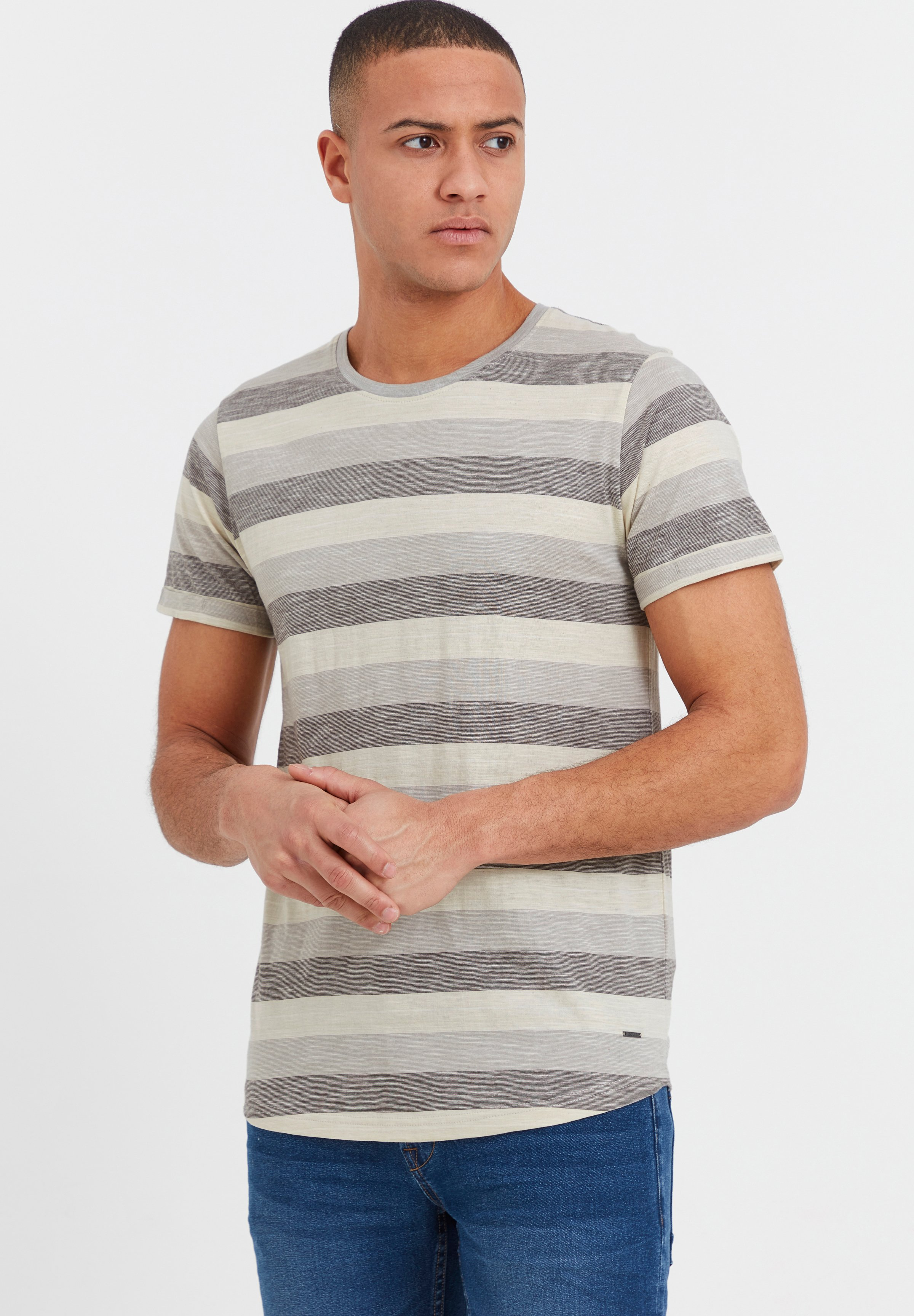 Homme RUNDHALSSHIRT THICCO - T-shirt imprimé