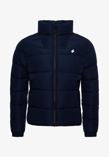NON HOODED SPORTS PUFFER - Winter jacket - deep navy