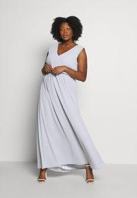 Chi Chi London Curvy - LARK DRESS - Cocktail dress / Party dress - blue - 0