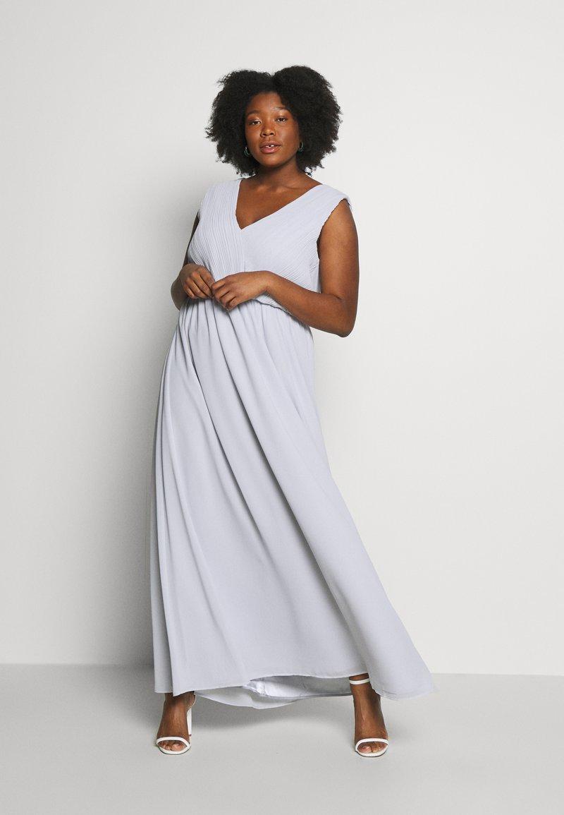 Chi Chi London Curvy - LARK DRESS - Cocktail dress / Party dress - blue