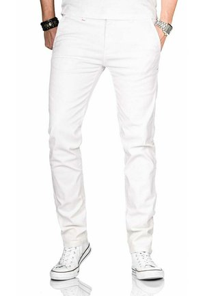 Chinos - weiss