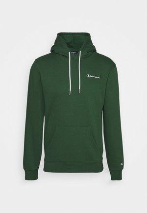 LEGACY HOODED - Luvtröja - dark green