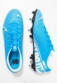Nike Performance - VAPOR 13 ACADEMY SG-PRO AC - Screw-in stud football boots - blue hero/white/obsidian - 1