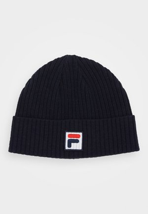 FISHERMAN BEANIE - Berretto - black iris
