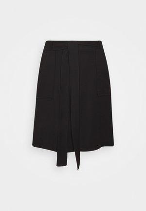 SIYAH - Minifalda - black