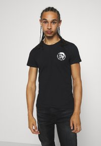 Diesel - UMTEE RANDAL 3 PACK - Basic T-shirt - black - 1