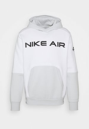 AIR HOODIE - Huppari - white/photon dust/black