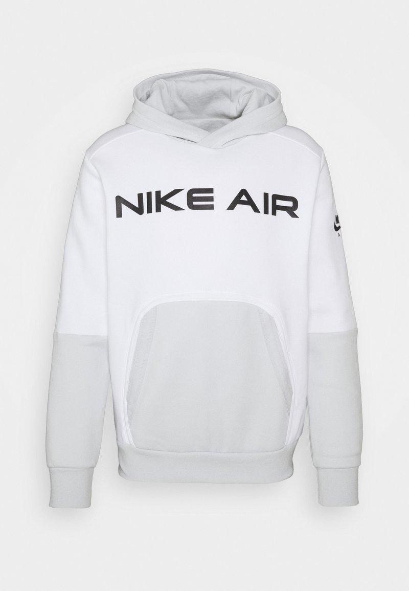 Nike Sportswear - AIR HOODIE - Luvtröja - white/photon dust/black