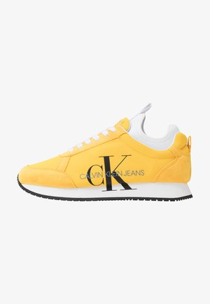 JEMMY - Sneakersy niskie - lemon chrome