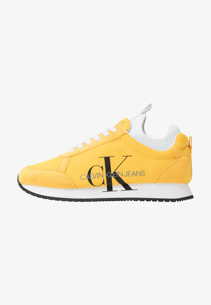 Calvin Klein Jeans - JEMMY - Baskets basses - lemon chrome