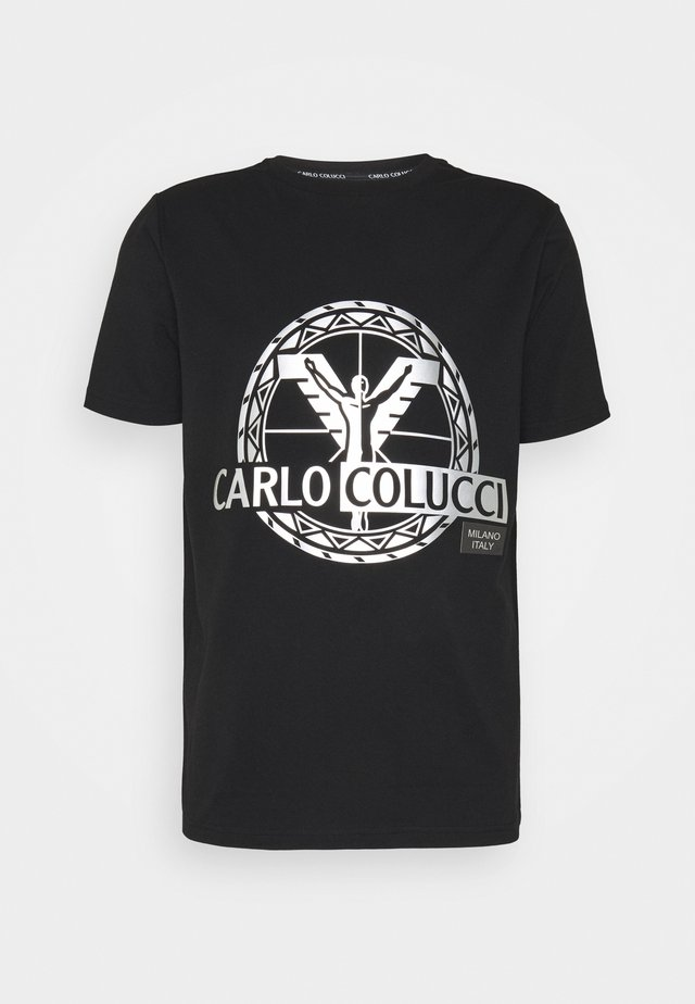 BIG LOGO - Print T-shirt - black