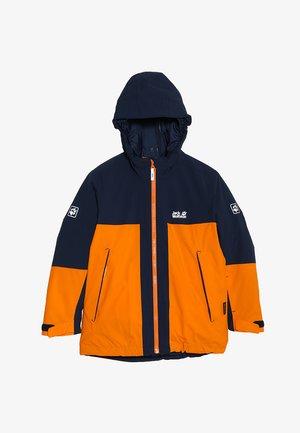 POWDER MOUNTAIN JACKET BOYS - Outdoor jacket - rusty orange