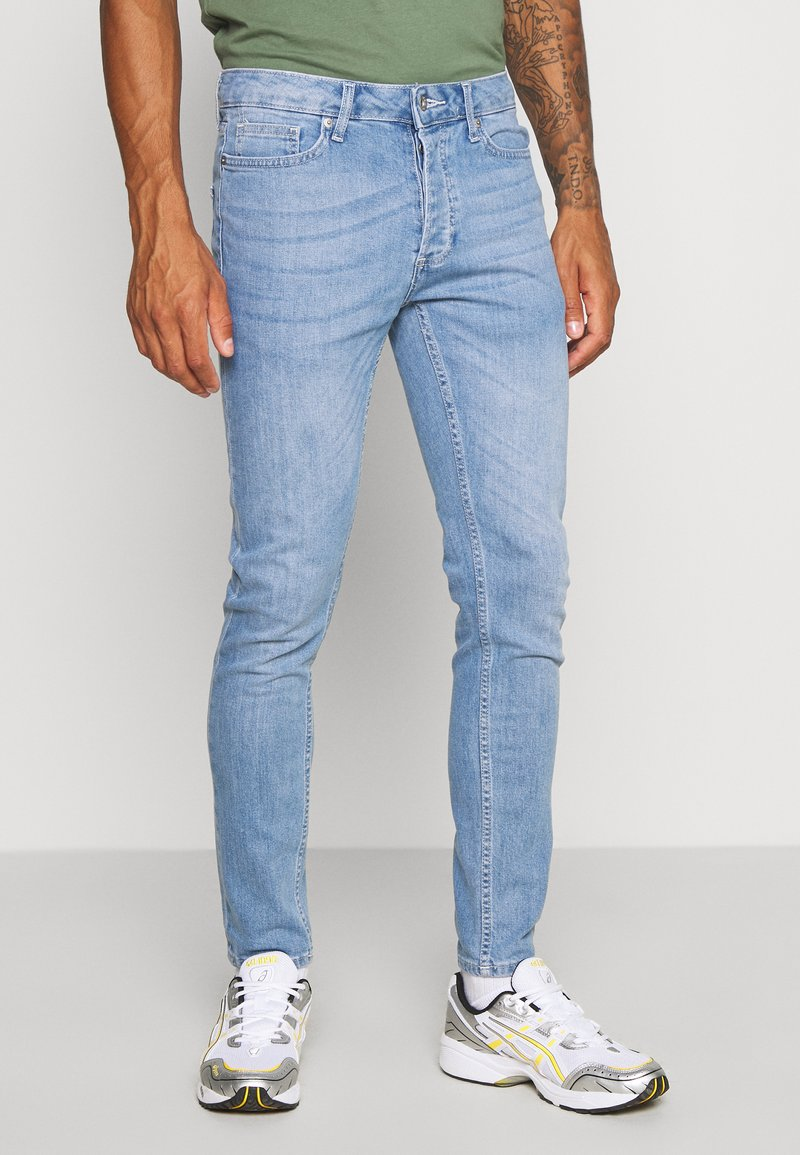 Topman - POWDR MASON  - Slim fit jeans - blue