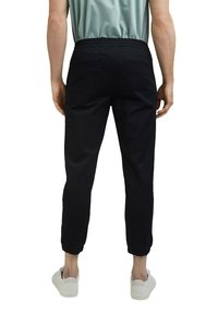 Esprit Collection - FASHION - Tracksuit bottoms - black - 4