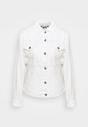 FITTED JACKET - Veste en jean - white