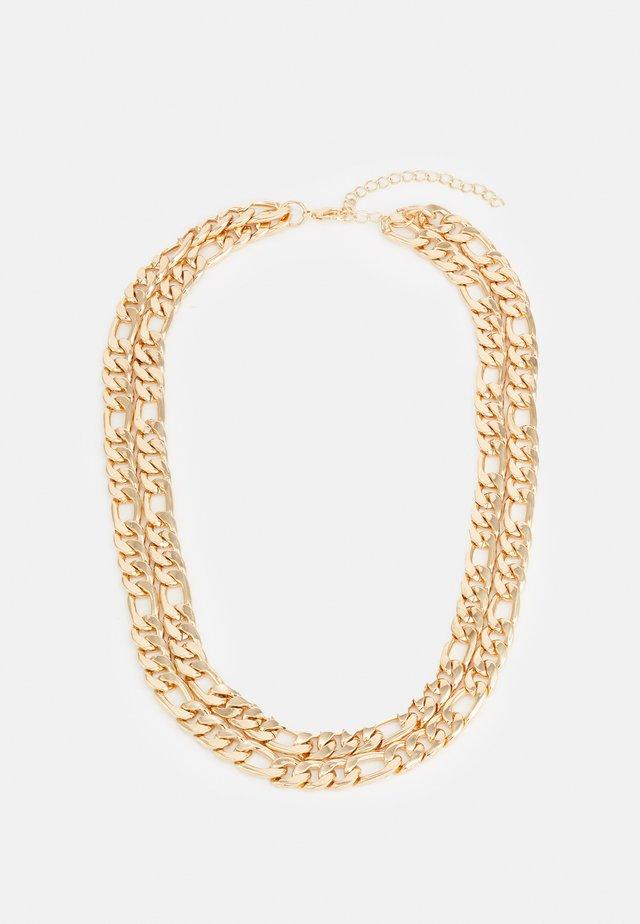 FIGARO LAYERING NECKLACE UNISEX - Necklace - gold-coloured