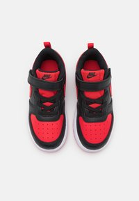 Nike Sportswear - COURT BOROUGH 2 UNISEX - Baskets basses - black/university red - 3